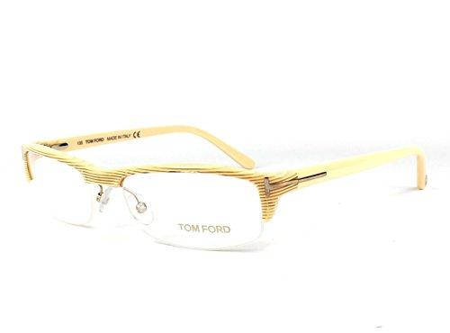 Optical frame Tom Ford Acetate Beige (TF5035 - Homme Tom Ford