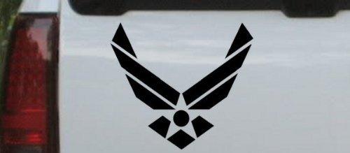 Us Air Force Military Decal Sticker Black   Die Cut Decal Bumper Sticker For Windows  Cars  Trucks  Laptops  Etc