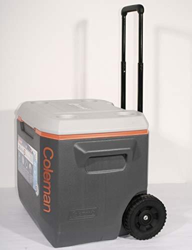Coleman Xtreme K/ühlbox 50 QT mit R/ädern grau//orange 3000002598
