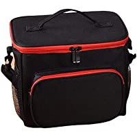 Insulated cooler Lunch Bag Box black