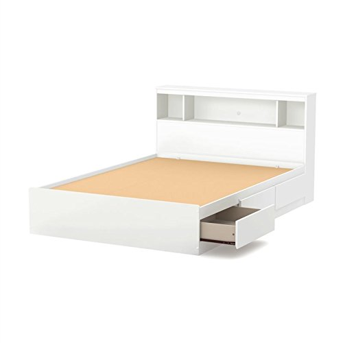 ll Mates Bed With Bookcase Headboard (54