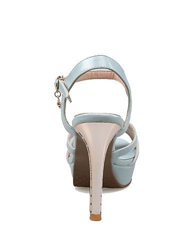 ShangYi Women's Shoes Stiletto Heels/Platform/Slingback/Open Toe Sandals Party & Evening/Dress Blue/Pink/White Pink v4OakPKQD1