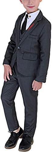 フォーマル スーツ 男の子 フォーマル スーツ 長袖 紳士服 子供服 キッズ 洋服 発表会 入園式 入学式 卒業式 結婚式 七五三 誕生日 110-160cm 3点セット