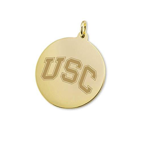 M. LA HART University of Southern California 14K Gold Charm