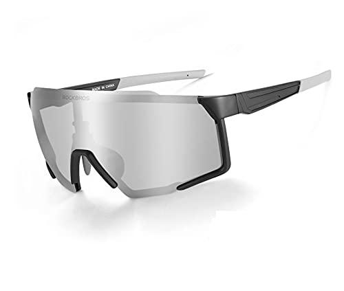 ROCKBROS Fietsbril Gepolariseerde Bril UV400-Bescherming Zonnebril Sportbril voor Fietsen Vissen Golf Running Heren…