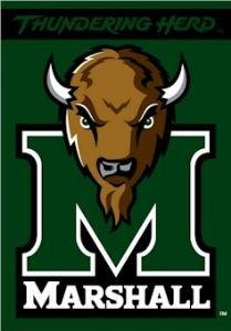 Marshall Thundering Herd 2 Sided Premium 28