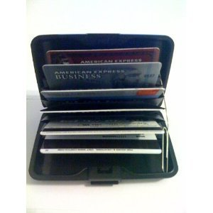 Business Aluminum Wallet Credit Card Case and Holder #A200006