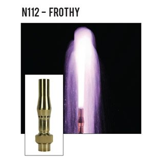 ProEco Display Fountain Nozzles - Frothy Nozzles (1.5'') by ProEco