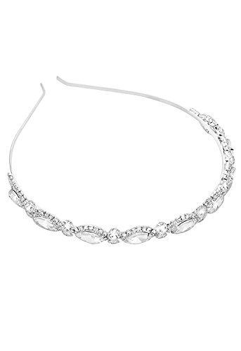 Rosemarie Collections Women's Sparkle Crystal Headband