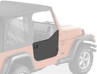 Bestop 53039-15 Black Denim Fabric Lower Half Door Set for 97-06 Wrangler including Unlimited by Bestop