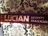 img - for Lucian Seventy Dialogues (The American Philological Association series of classical texts) book / textbook / text book