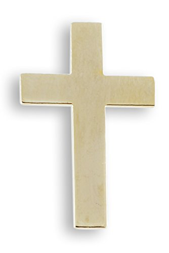 Cross Gold Plated Lapel Pin- Value Pack (1 Pin)