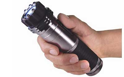 14. Zap Tactical Stun Flashlight Taser Self Defense Weapon