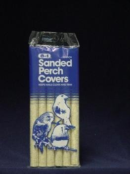 - 8 In 1 Pet Products BEOC366 6-Pack Sanded Bird Perches Covers, Small
