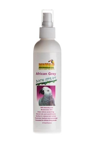 8 oz African Grey Bath Spray (Shampoo Bird)