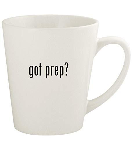 got prep? - 12oz Ceramic Latte Coffee Mug Cup, White (Best Prep For Colonoscopy 2019)