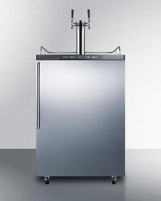 Summit SBC635MOSHVTWIN Wine Dispenser, Stainless-Steel