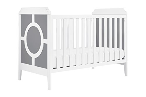 Cheap DaVinci Poppy Regency 3-in-1 Convertible Crib, Grey and White