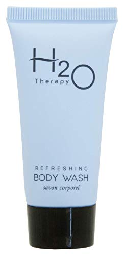 Therapy Body Cleanser - H2O Therapy Body Wash Soap, Travel Size Hotel Hospitality, 0.85 oz (Case of 300)