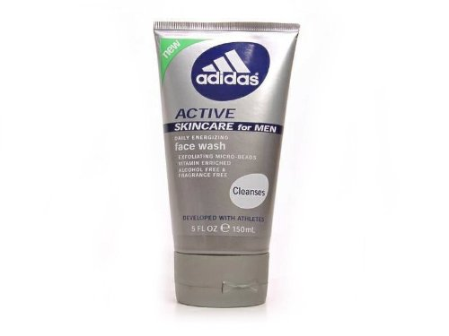 Adidas Active Skincare for Men Daily Energizing Face Wash 5fl. Oz. (Active Face Wash Men)
