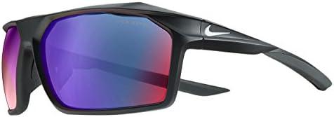 Nike EV1033-016 Traverse R Sunglasses Frame Grey with ML Infrared Lens , Matte Black White