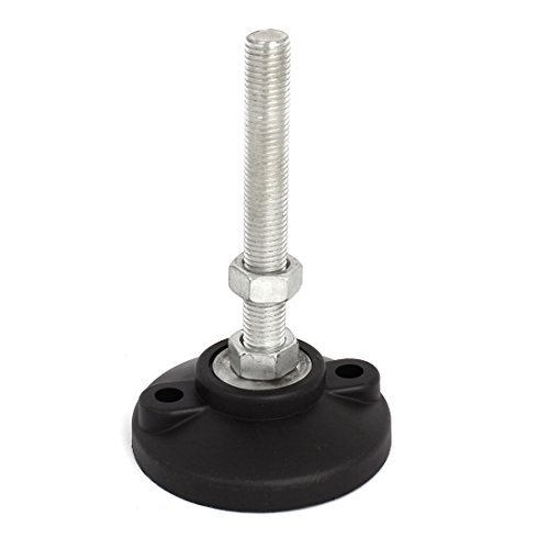 Nylon Base Adjustable Table Furniture Leveling Glide Foot M16 x 120mm (M16 Base)