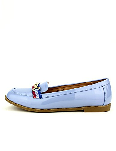 Derbies Cendriyon Blue Chaussures TOPKOOS Femme Ciel Vernies pdd5qrw