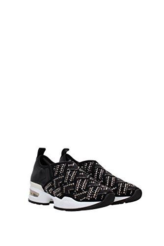 Sneakers Eu d308z920nxn Donna Nero Tessuto Scervino 0pfqw