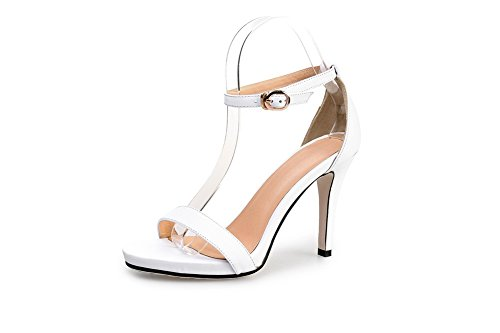Adeesu 35 Bianco Ballerine Eu Donna white 6xq6gr