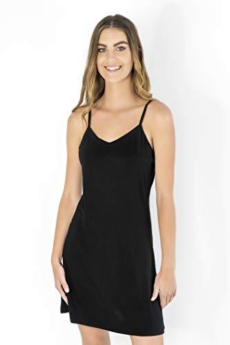 Womens Full Slip Dress can wear as Lingerie Sleepwear Loungewear or Nightgown