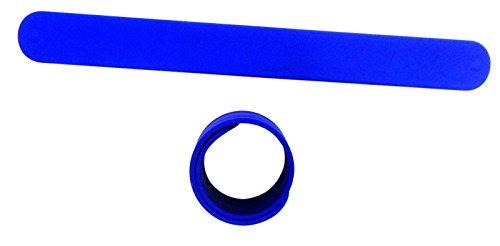 9 BLUE Silicone Slap Bracelets - Soft & Safe for Kids Boys