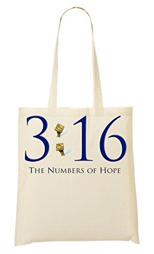 3 16 Numbers Of Hope Bolso De Mano Bolsa De La Compra