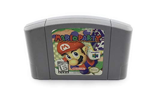 (New For Nintendo 64 N64 Game Card Mario Party Video Cartridge Console)