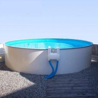 Poolfolie Innenh/ülle f/ür Rundpool 3,00 x 1,20 m Folienst/ärke 0,6 mm blau Rundbecken