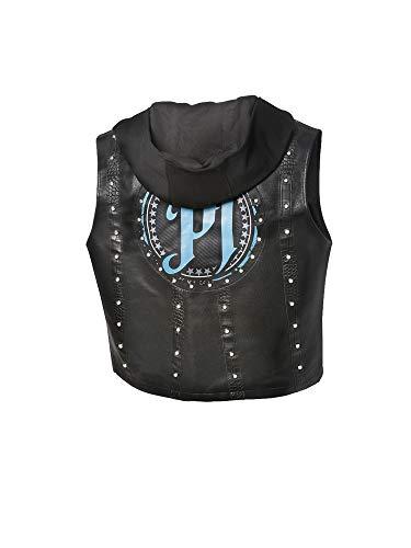 WWE AJ Styles P1 Black/Carolina Blue Authentic Vest