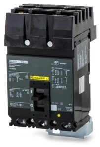 SCHNEIDER ELECTRIC Molded Case Circuit Breaker 480-Volt 60-Amp FA34060 480V 60A