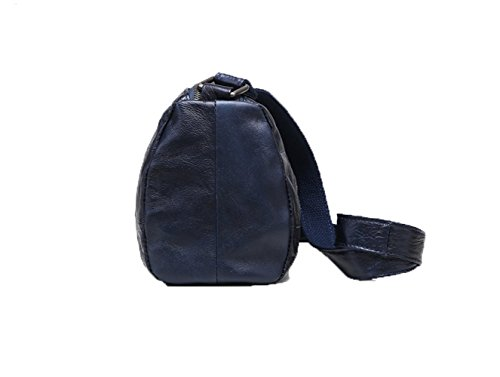 Bag Section Handbag Korean Square Clutching Shoulder 2018 Woman Small Small Bag Women Fashion Cross Bag Simple New Blue XTPzxFqAdw
