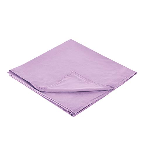 - RelaxBlanket 48''x72'' Duvet Cover for Weighted Blanket | Premium 180GSM Cotton | Pink