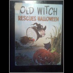 (Old Witch rescues Halloween!)