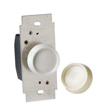 Almond Light Knob (Leviton Dimmer Single Pole On/Off 120 V Light Almond, White Csa, Ul Carded)
