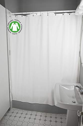 (Bean Products Organic Cotton Shower Curtain - 70