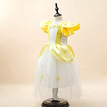 Yellow Casual Dress For Girls