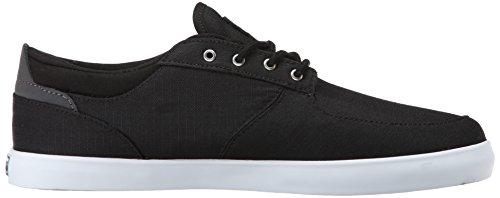Etnies - Hitch Sneaker Herren Skate Schwarz Grau Skateschuh Sommer Größe 42,5 (US 9,5)