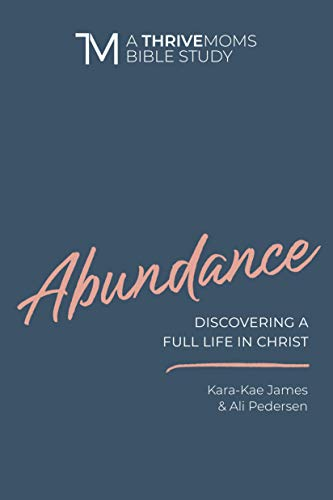 Book cover from Abundance: Discovering a Full LIfe in Christ (A Thrive Moms Bible Study) by Kara-Kae James