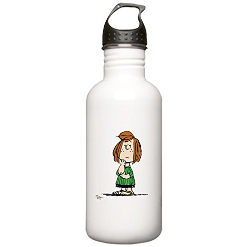 CafePress - Peppermint Patty Stainless Water Bottle 1 - Stainless Steel Water Bottle, 1.0L Sports Bottle