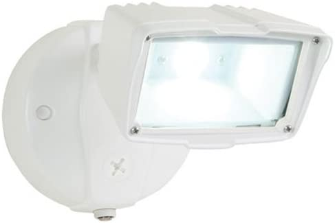 ALL-PRO FSS1530LPCW, Dusk to Dawn LED Small Floodlight, White