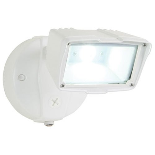 ALL-PRO FSS1530LPCW, Dusk to Dawn LED Small Floodlight, White ()