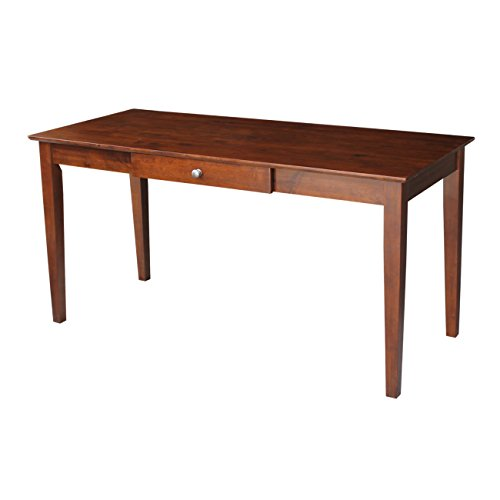 International Concepts OF581-42 Writing Desk with Drawer, Espresso