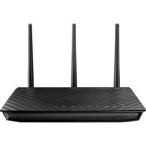 Asus RT-N66U IEEE 802.11n Wireless Router - 2.40 GHz ISM Band - 5 GHz UNII Band - 3 x Antenna - 450 Mbps Wireless Speed - 4 x Network Port (Asus Wireless Broadband)