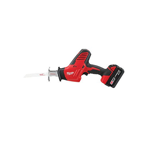 Milwaukee 2625-21CT M18 18-Volt Hackzall Cordless One-Handed Reciprocating Saw Kit